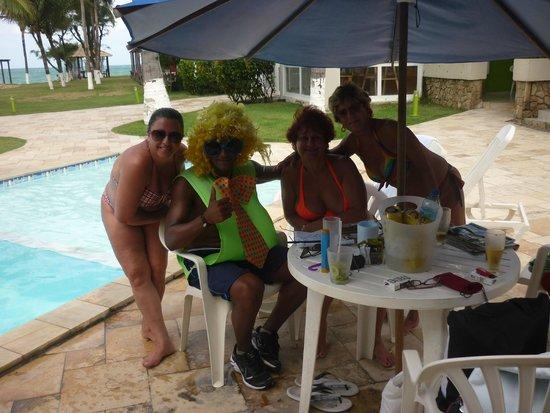 Prodigy Beach Resort Marupiara: piscina próxima do apartamento