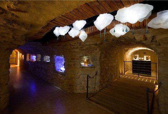 Musée/Centre d'Art du Vere : Vue des salles du musée, photo Alain Baschenis