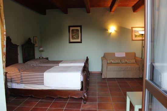 Il Baciass : camera da letto