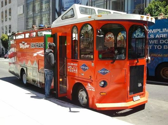 Gray Line of San Francisco - Super Sightseeing: small bus after 3pm