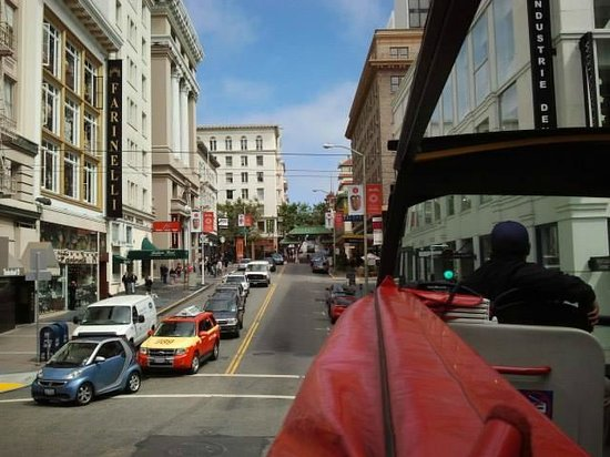Gray Line of San Francisco - Super Sightseeing: view from the big bus