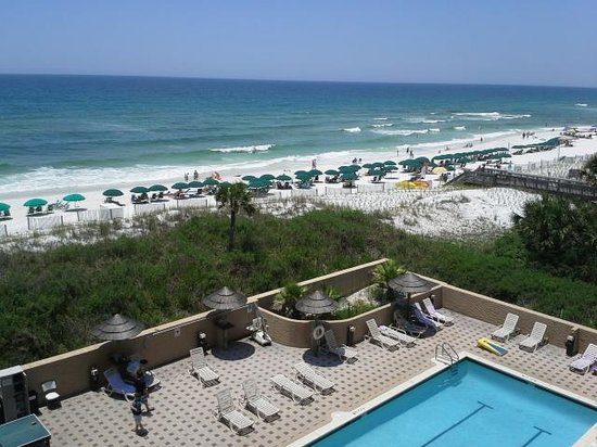 Shot from the beach picture of wyndham garden fort - Wyndham garden fort walton beach ...