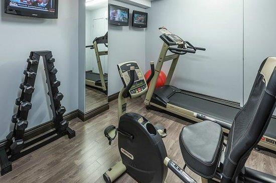 Hotel Chateau Bellevue: Salle de fitness