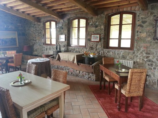 Agriturismo La Colombaia: Restaurante
