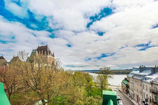Hotel Chateau Bellevue: Vue