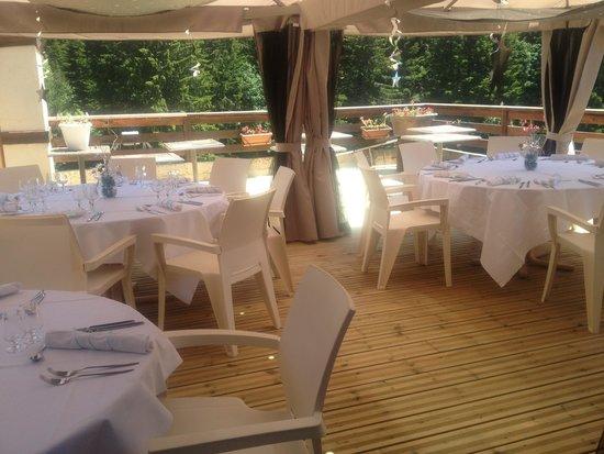 Hotel Cartusia : terrasse restaurant
