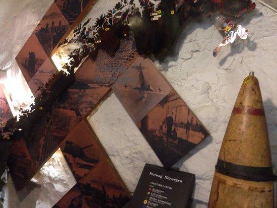 Musée de la résistance norvégienne (Norges Hjemmefront Museum) : Bombe