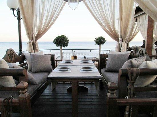 Coralli: Fine dinning areas.
