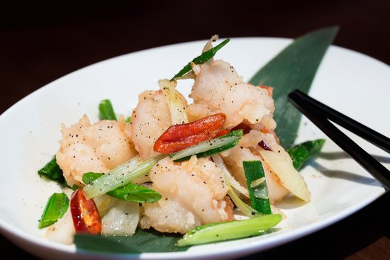 Crowne Plaza London The City: Kimchi starter at Chinese Cricket Club