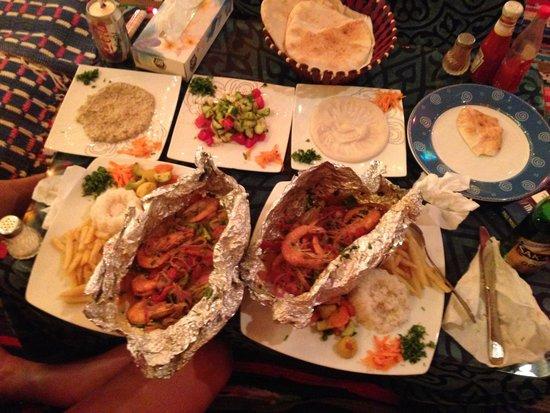 Forsha's Egyptian Kitchen: Gambas