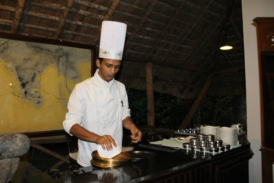 Spice Village: The ever smiling and jovial chef Manu