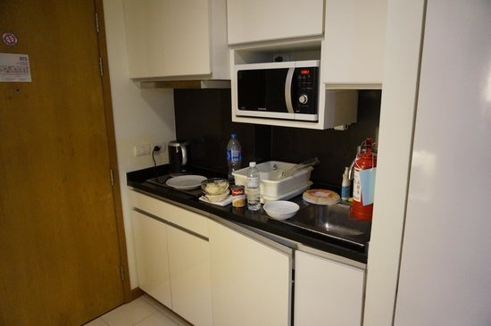 Citadines Sukhumvit 8 Bangkok : aperçu kitchenette