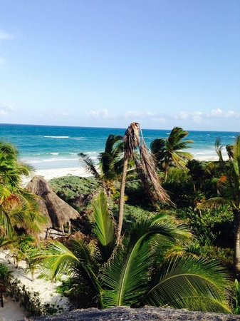 My Way Boutique Hotel: Beach view from Caribe Suite