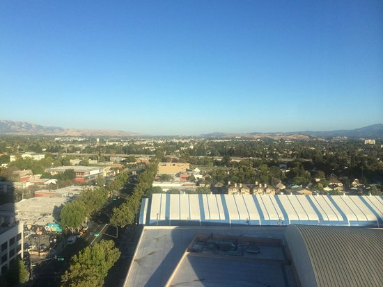 San Jose Marriott: View from the room