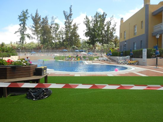 Compostela Beach Golf Club: Pool area (being redone)