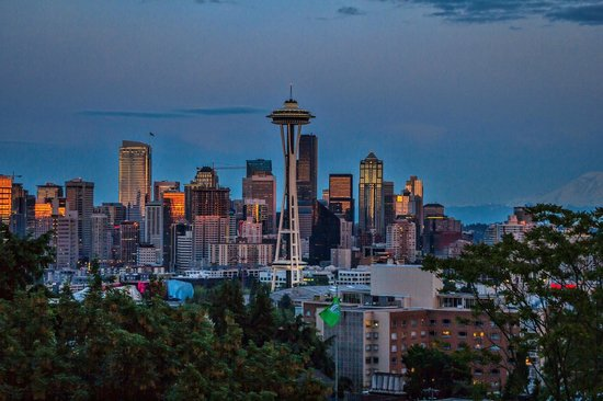 Kerry Park: Downtown Seattle