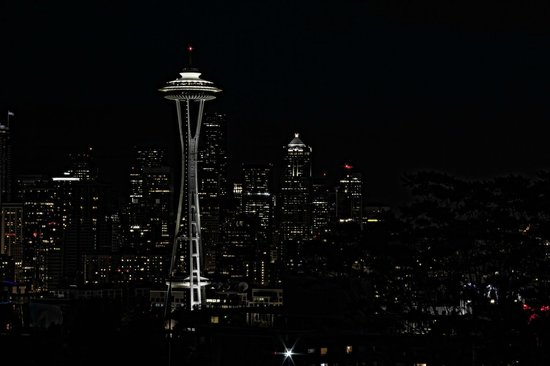 Kerry Park: Downtown Seattle at night