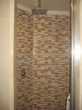 sisters\' renovated washroom - walk-in sit down norwegian shower ...