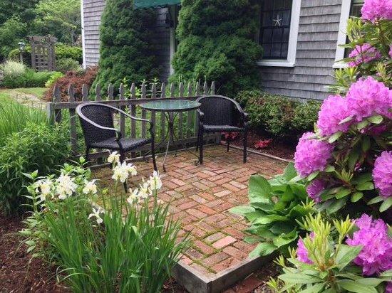 Morning Glory Inn : Rachel suite, patio
