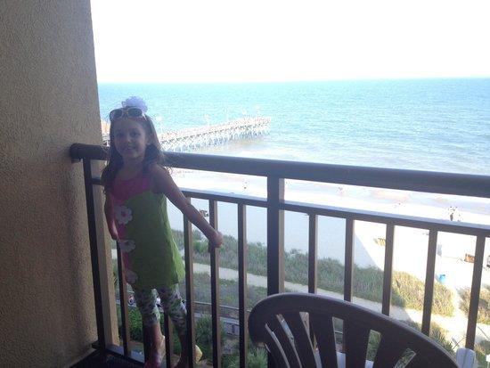 Holiday Inn at the Pavilion: Balcony on the 8th floor