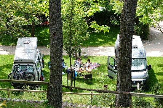 Camping Montagut : Ambiente relajado