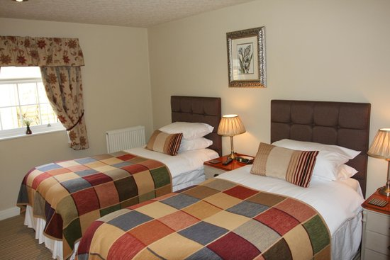 Fox & Hounds Country Inn: Standard Twin Room