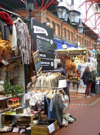 St. George's Market: Interior del mercado