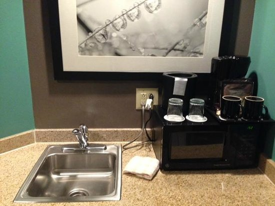 SpringHill Suites Newark Liberty International Airport: kitchenette
