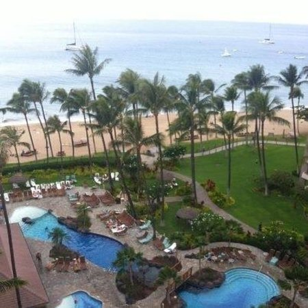 Kaanapali Alii : View from the condo!