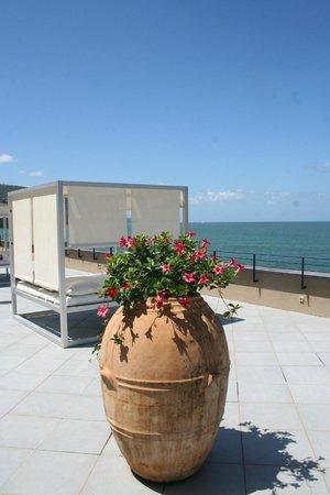 Capo La Gala Hotel: Terrasse sur le toit
