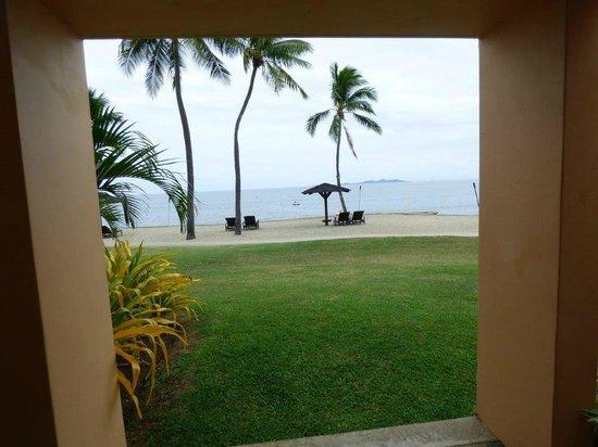 Sheraton Fiji Resort : view from room patio