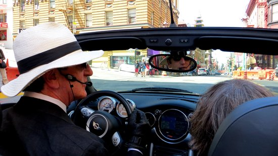 Small Car Big Time Tours : Reed at the wheel