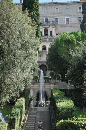 Villa d'Este : Сады виллы