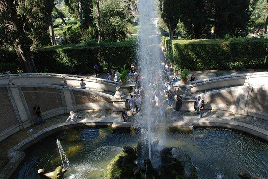 Villa d'Este : Разнообразие фонтанов