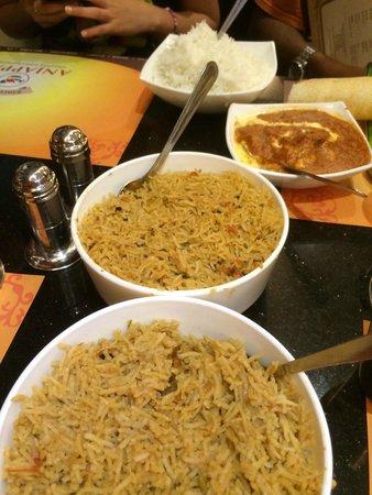 Anjappar: riso