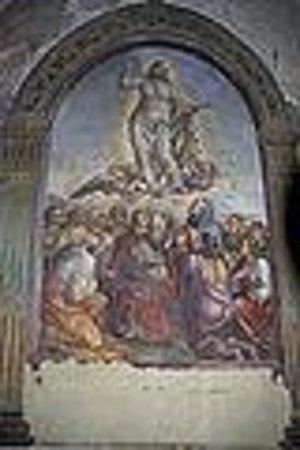 Chiesa dei santi Pietro e Andrea : affresco del Sodoma