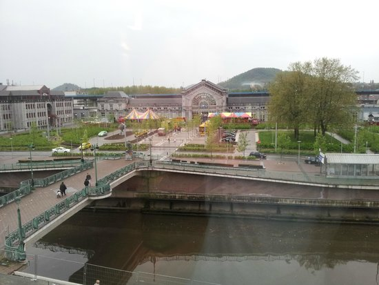 Ibis Charleroi Centre Gare: Vista da janela do quarto