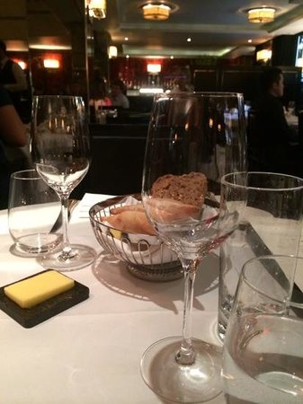 The Savoy Grill : table for two