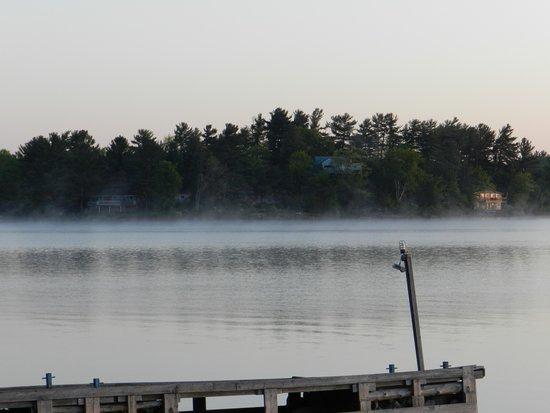Bayview Wildwood Resort : A Misty Sunrise