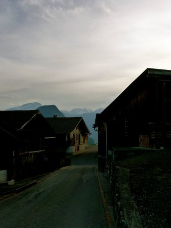 Gasthaus Alpina: Just down the street, passed this view almost every day!