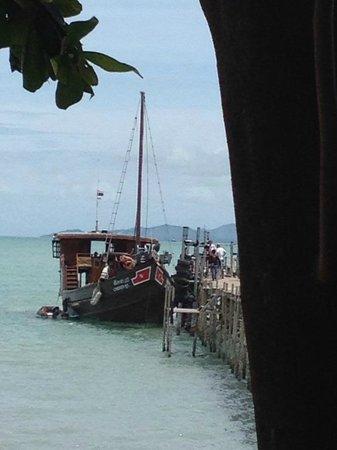 Chantara, Junk Boat: Anlegen