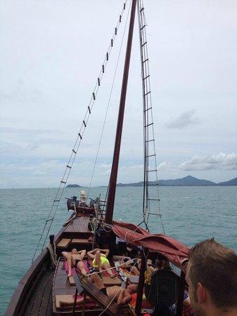 Chantara, Junk Boat: Freiheit pur