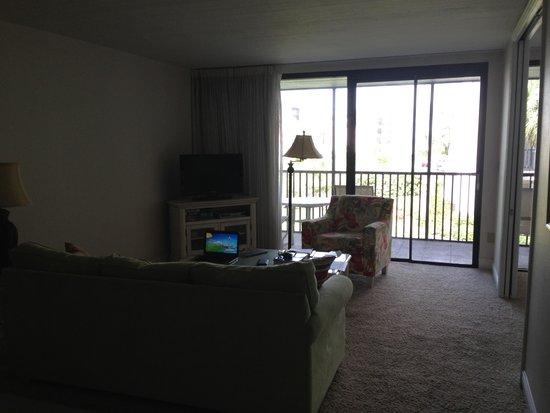 Sundial Beach Resort & Spa: Living room