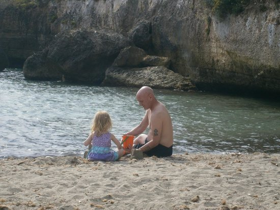 HSM Canarios Park: beach