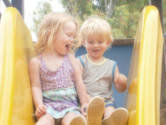 HSM Canarios Park: playground slide