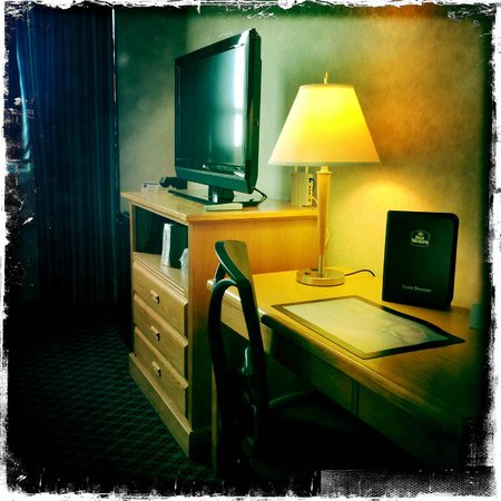 BEST WESTERN PLUS Carlton Plaza Hotel: TV, and desk