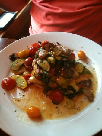 Stinky's Fish Camp : Daily Special  Grilled Red Snapper w/vegtables