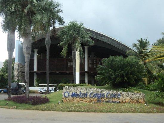 Melia Cayo Coco: Main entrance