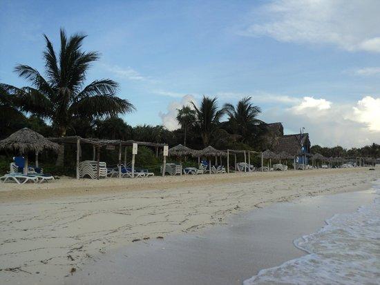 Melia Cayo Coco: 7 am on the beach