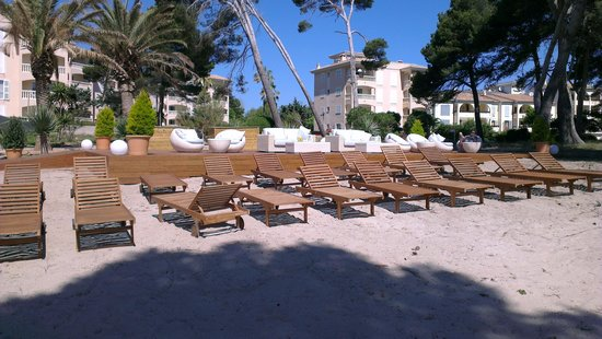 Mel Beach Hotel & Spa: Chillout